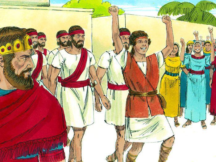 10. Résumé sur le deuxième livre de Samuel