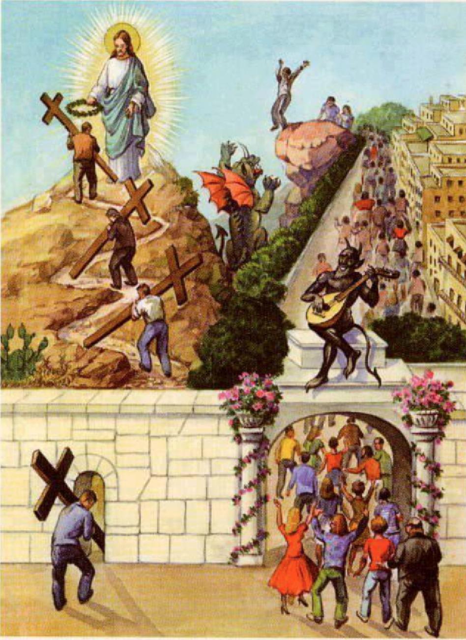 Luc 14:27Segond 21 (SG21) Celui qui ne porte pas sa croix et ne me suit pas ne peut pas être mon disciple.