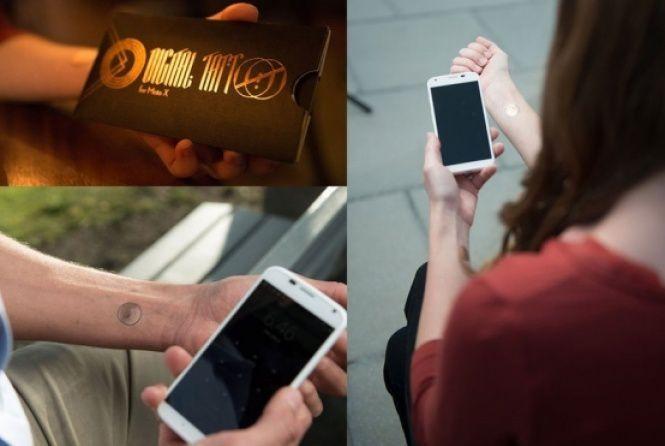 Un pas de plus vers la marque : Tatouage Motorola X