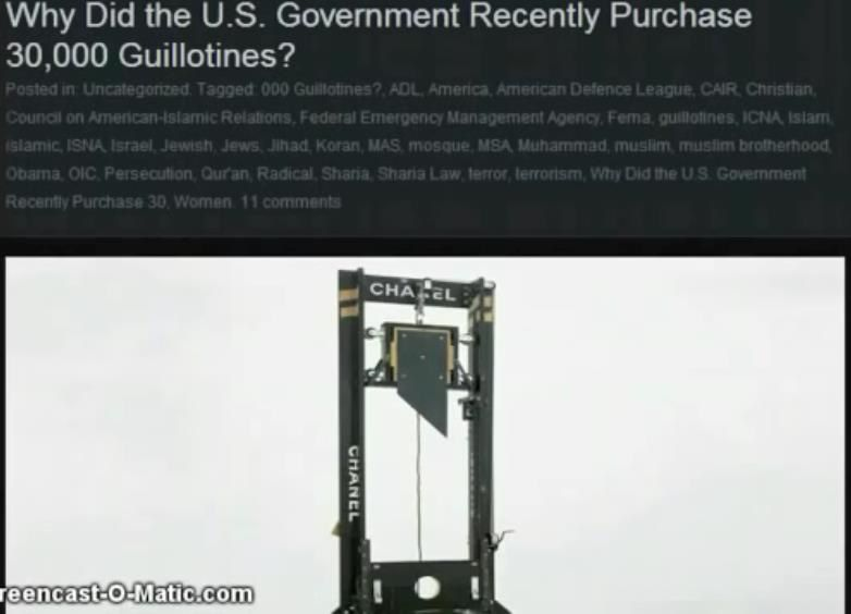 Image result for us guillotines