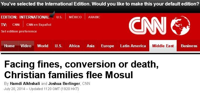 http://edition.cnn.com/2014/07/19/world/meast/christians-flee-mosul-iraq/