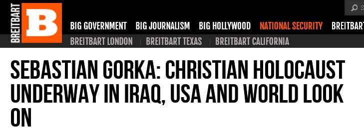 http://www.breitbart.com/Big-Peace/2014/07/19/Christian-Holocaust-Underway-in-Iraq-as-USA-and-World-Looks-On