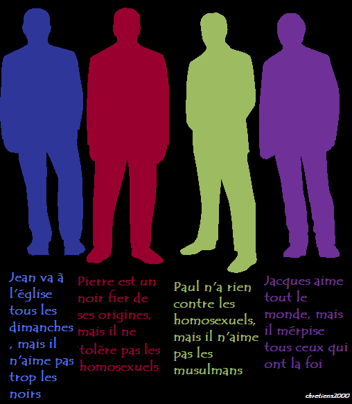 Contradictions: Jean, Pierre, Paul, Jacques