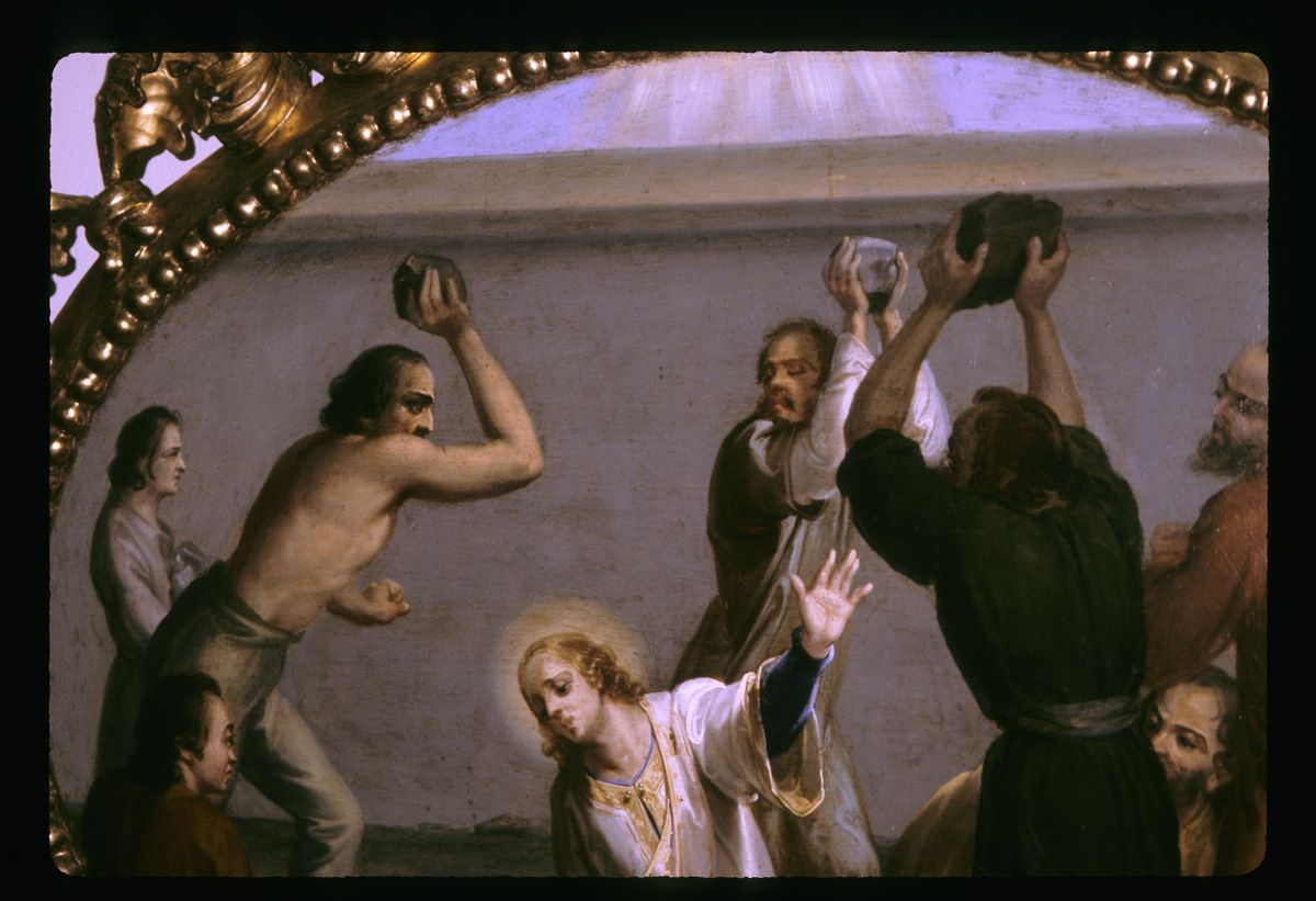 Le martyr d'Etienne..........Stephen matryr