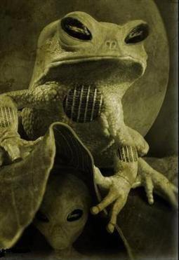 Esprits semblables à des grenouilles
