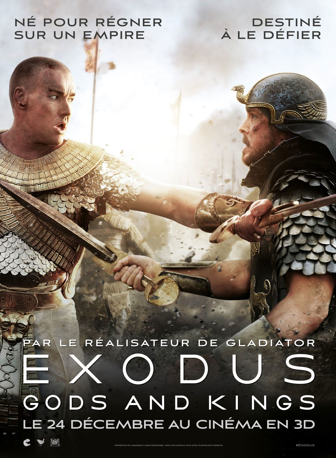 Le film Exodus Gods and Kings ... et ses mensonges (màj)
