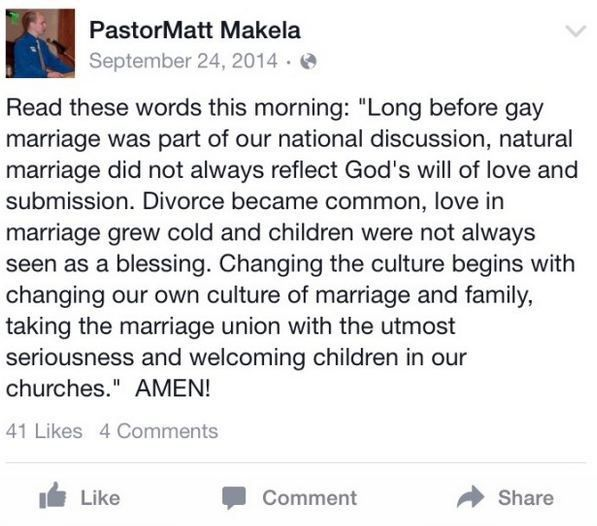 Quand l'EGLIZE fait honte : Le pasteur, féroce opposant à la cause gay, pris en flagrant sur un site de rencontre gay