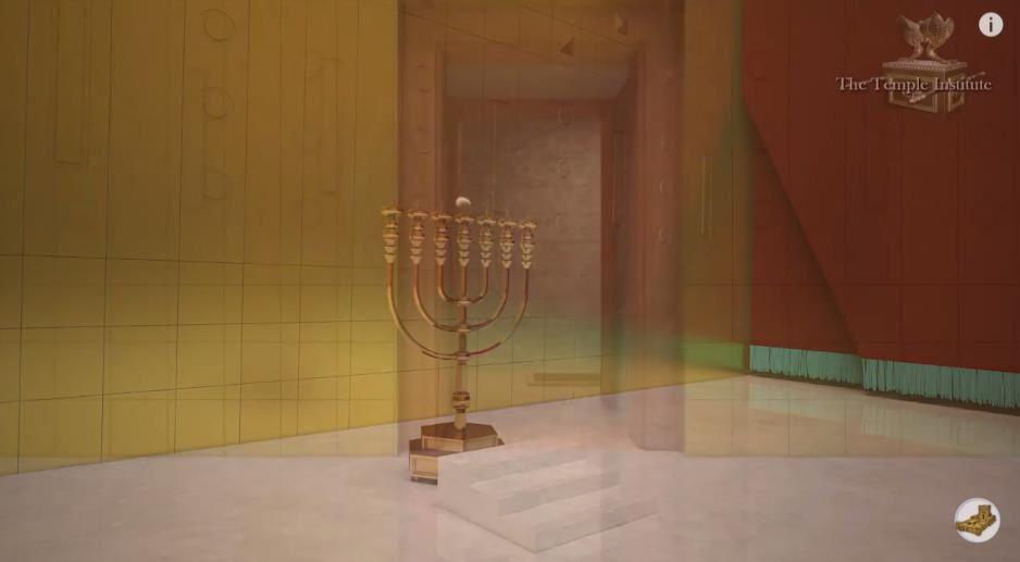 Le Troisième Temple de l'intérieur