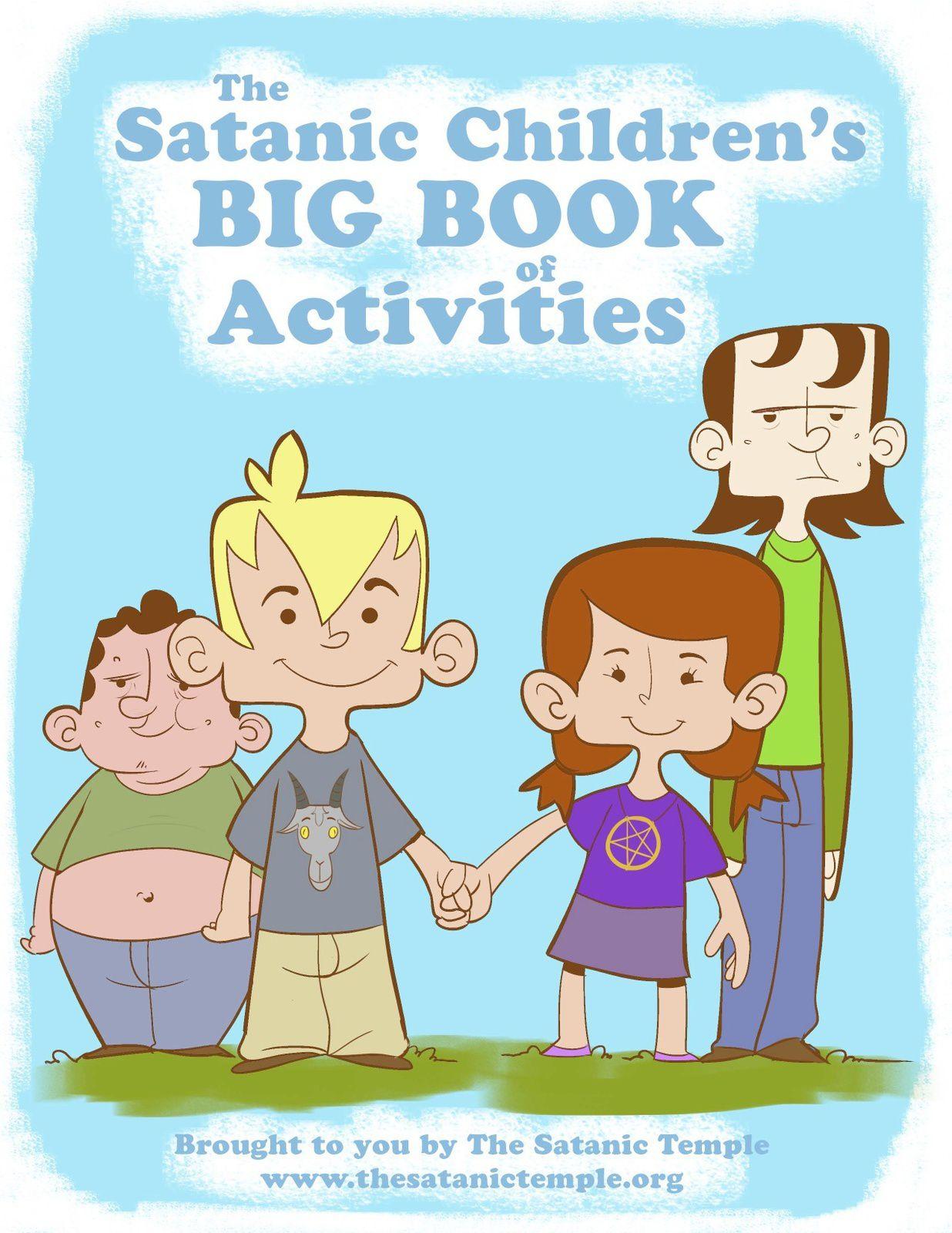 Le Grand Livre Satanique d'activités pour les enfants