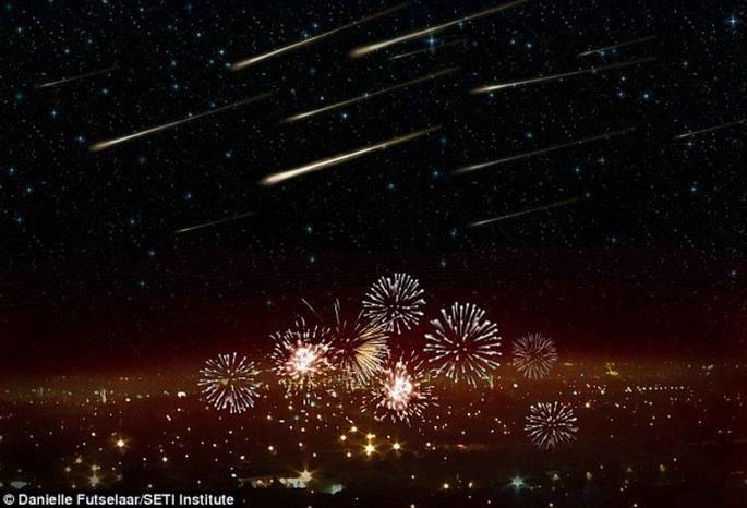 Une pluie de météores traverse par surprise la Terre et intrigue les scientifiques