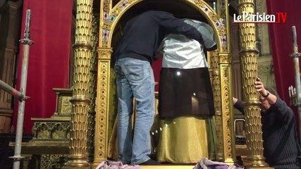 L'église de Saint-Denys d'Argenteuil exhibe une tunique attribuée à Jésus avant sa crucifixion (+ sondage)