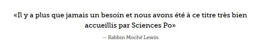 Religion unique : Paris - Sciences Po va former les religieux
