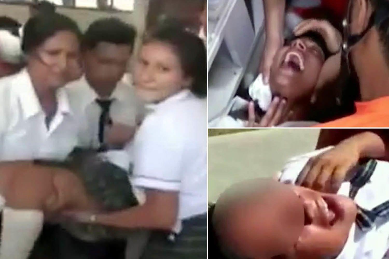 Pérou : 80 élèves possédés disent avoir vu un homme en noir qui voulait les tuer !