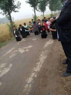 Annulation d'une réunion chrétienne par les autorités chinoises