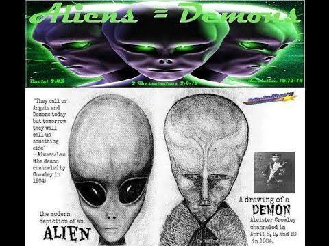 Les Extraterrestres tremblent au nom de Jésus