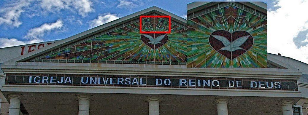 Où trouver les symboles : Eglise Universelle