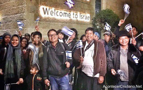 Des descendants de la « tribu perdue » de Manassé, retournent en Israël