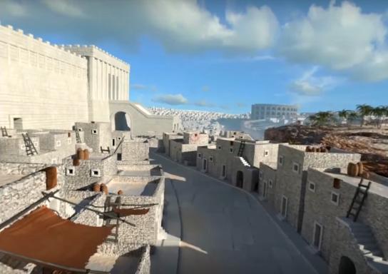 Image du jour : Jérusalem au temps du Nouveau Testament
