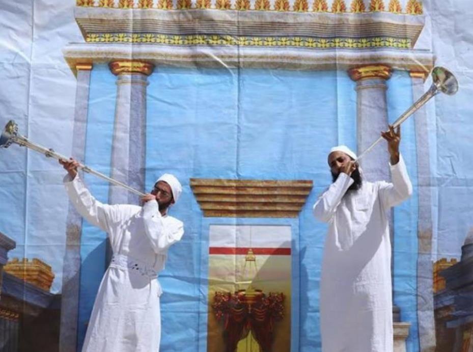 Historique : La police israélienne a autorisé la cérémonie juive du sacrifice d'un agneau de la Pâque à moins de 100 mètres du site du Temple