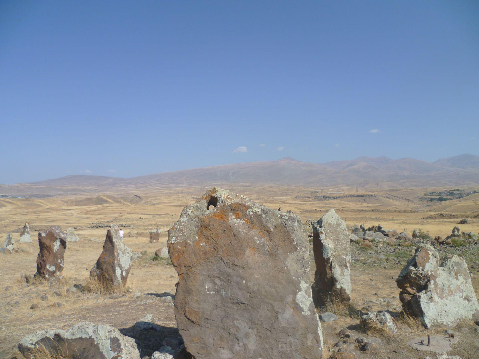 Mystérieux observatoire astronomique de Karahunj