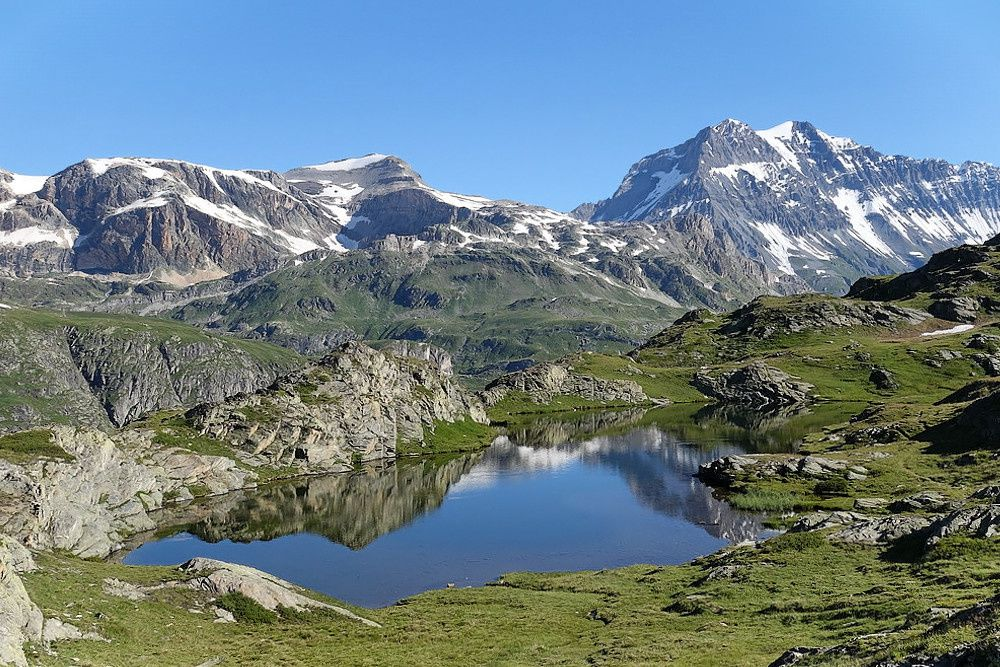 Juillet en Vanoise : les lacs