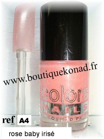 Cosmod Colors Nails Rose baby irisé