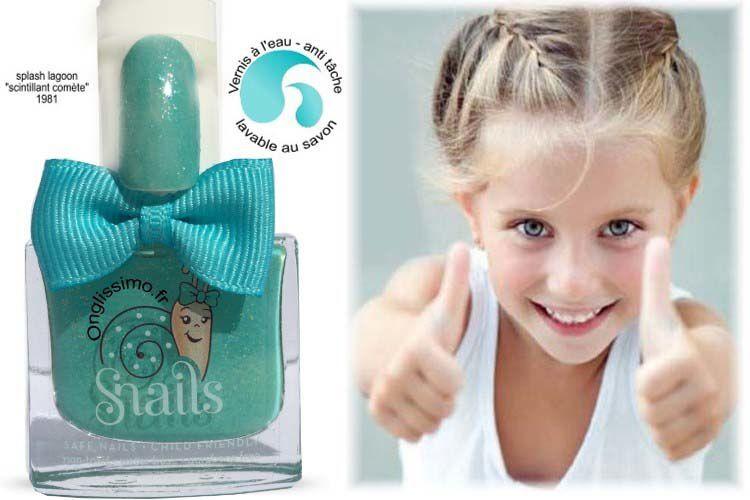 Vernis à l'eau pour enfants de Snails