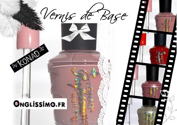 Vernis à ongles Konad 15 ml sur www.Onglissimo.fr