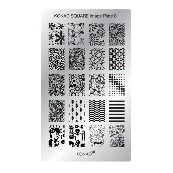 Stamping Konad chez www.Onglissimo.fr