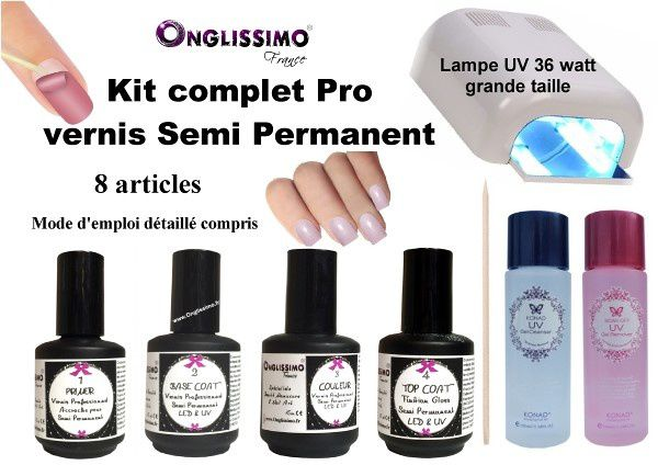 vernis permanent Onglissimo® France