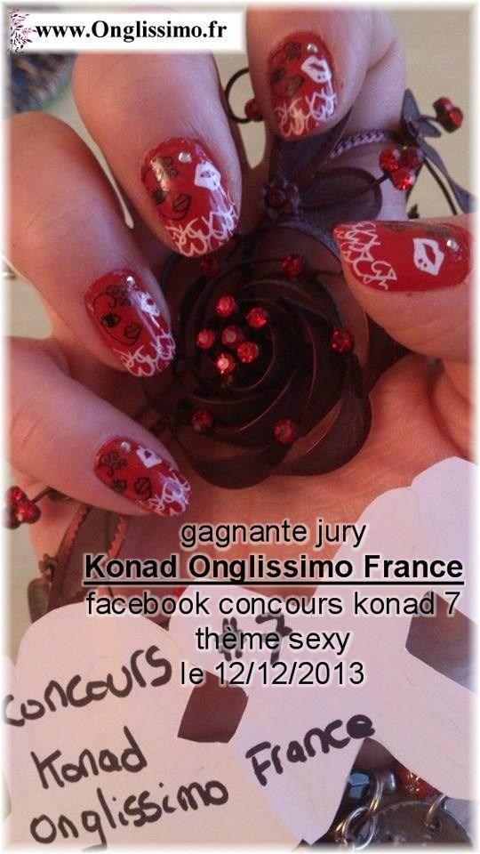 les 2 Gagnantes Facebook au Concours Konad 7