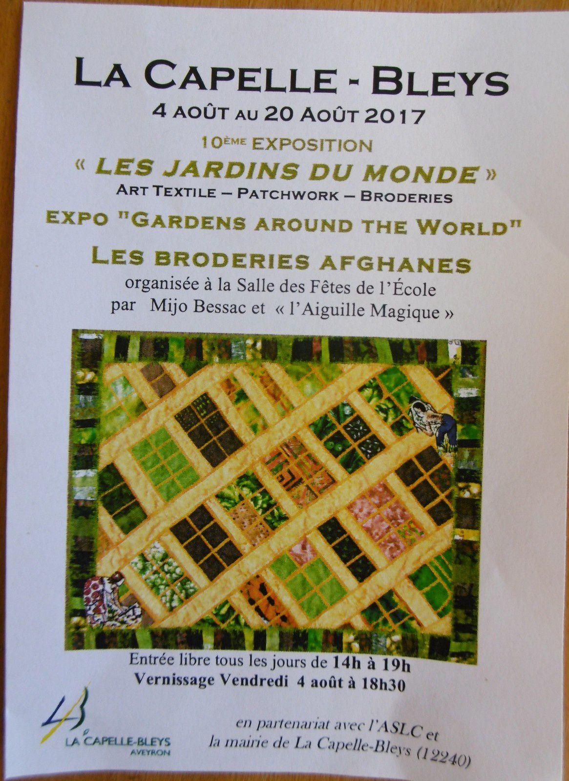 Expo et stage dans le 12