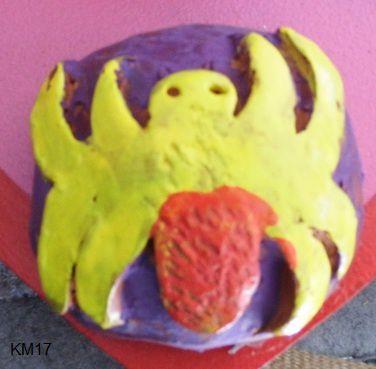 Sculpture enfants Boucliers 4 : les symboles