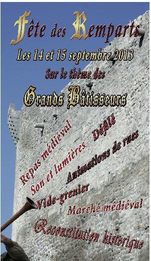 Fête des remparts de Courthézon le 14 &amp&#x3B; 15 septembre