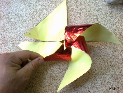 Sculpture enfants FL : Le moulin à vent