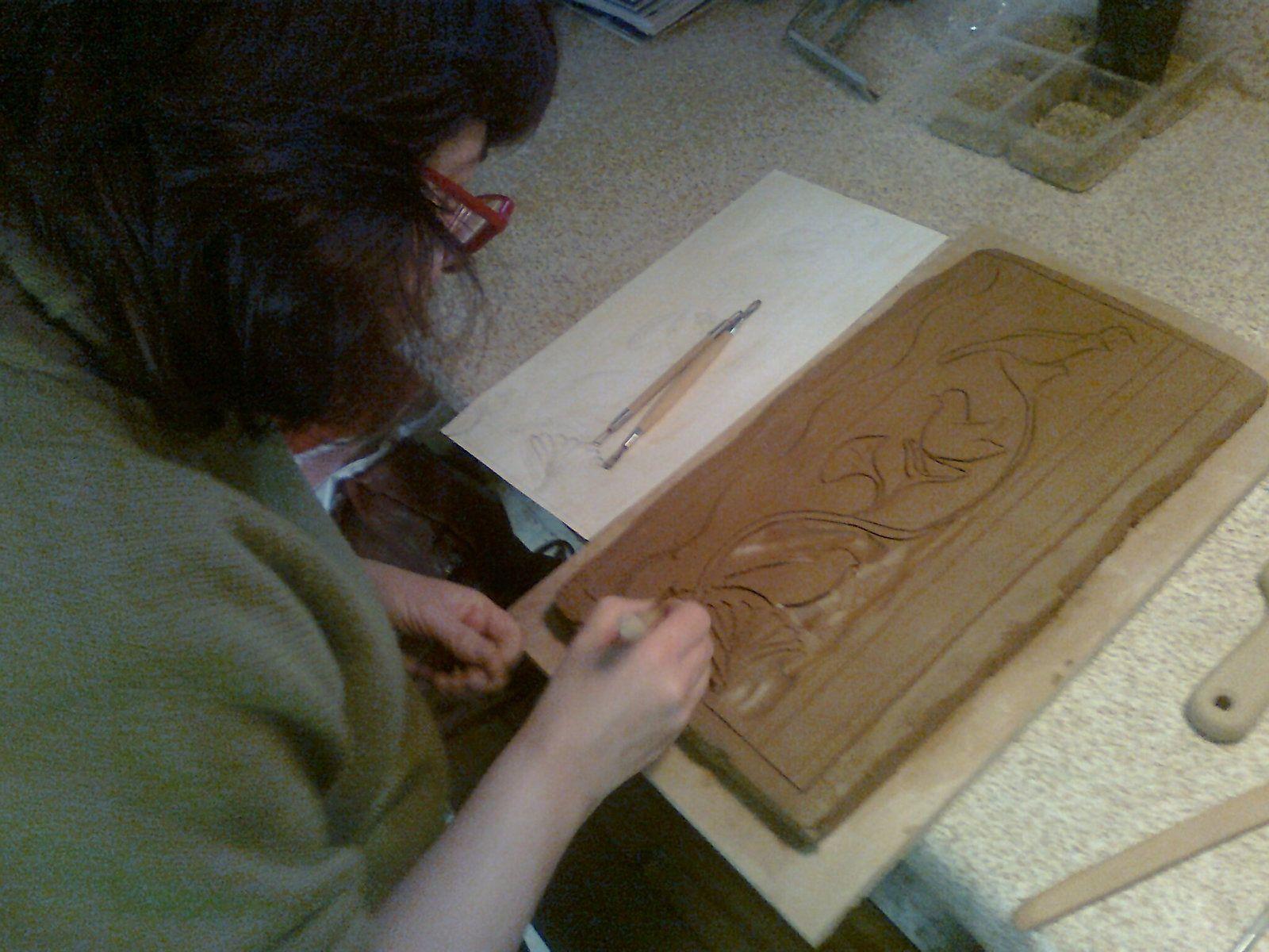 Sculpture sur bois : le miroir indien - épisode 1