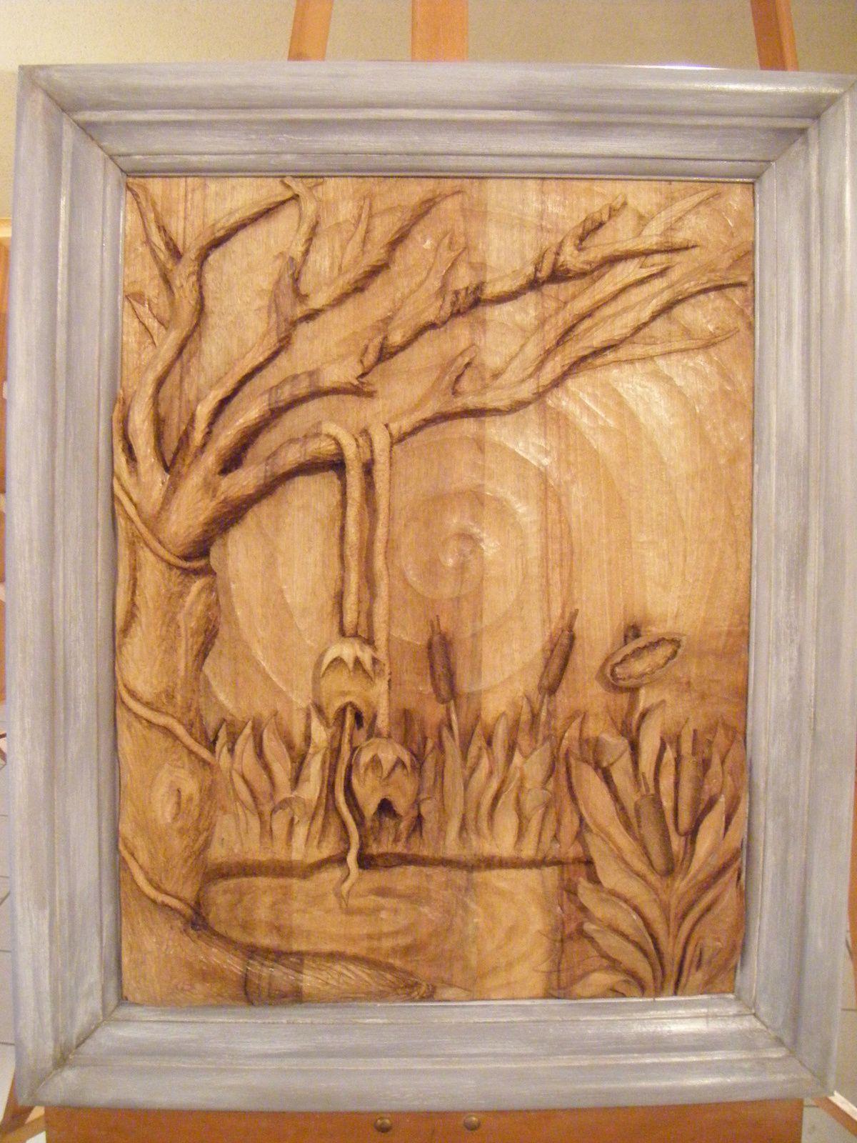 1er Salon de Sculpture sur bois