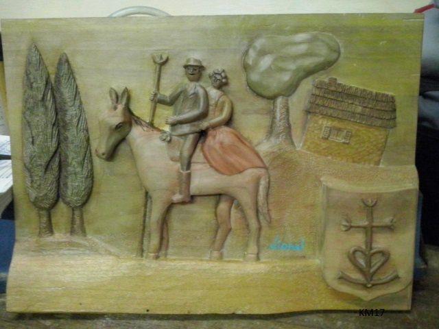 Sculpture sur Bois : la Camargue