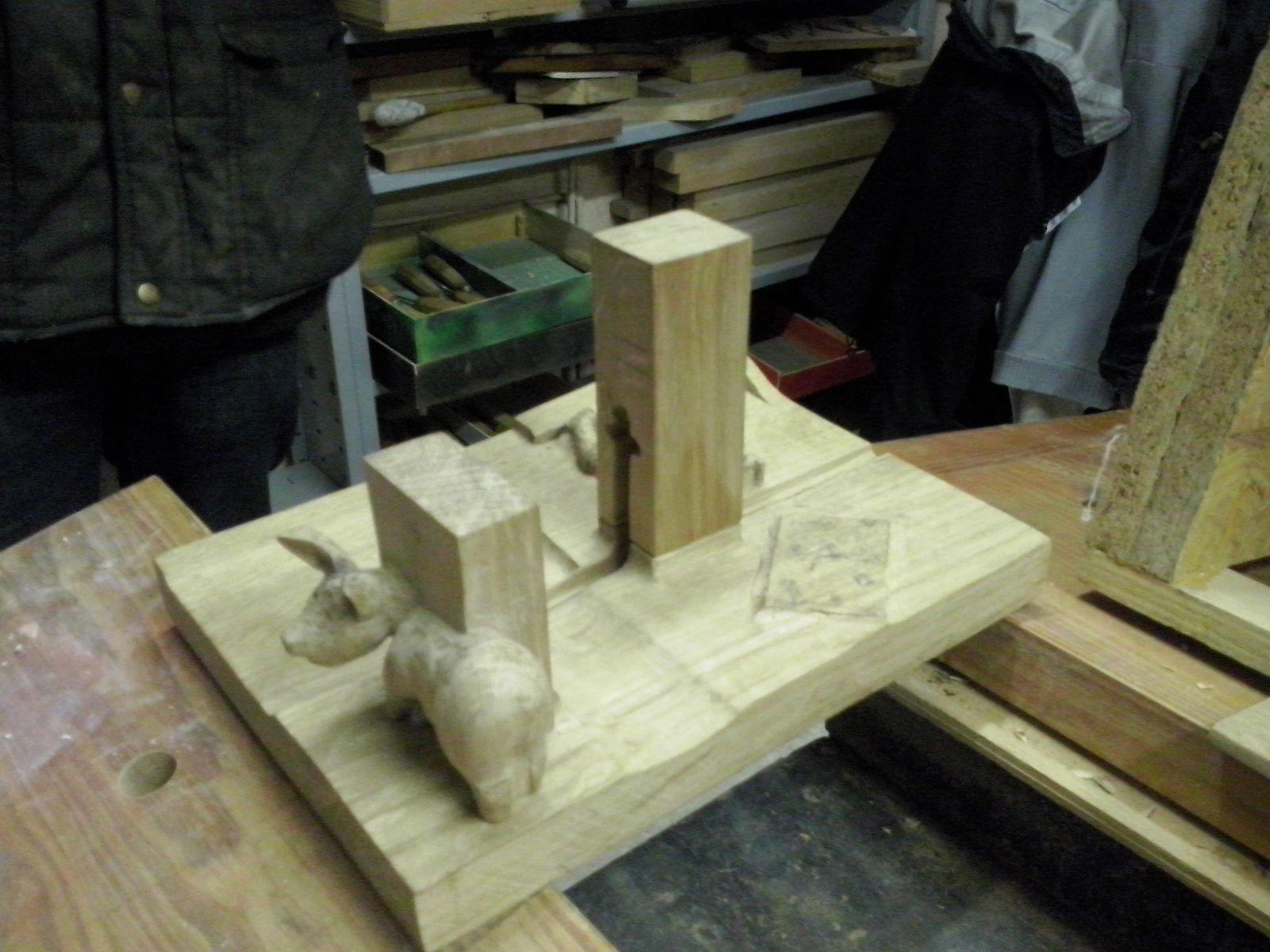 Sculpture sur Bois : la planche à saucisson