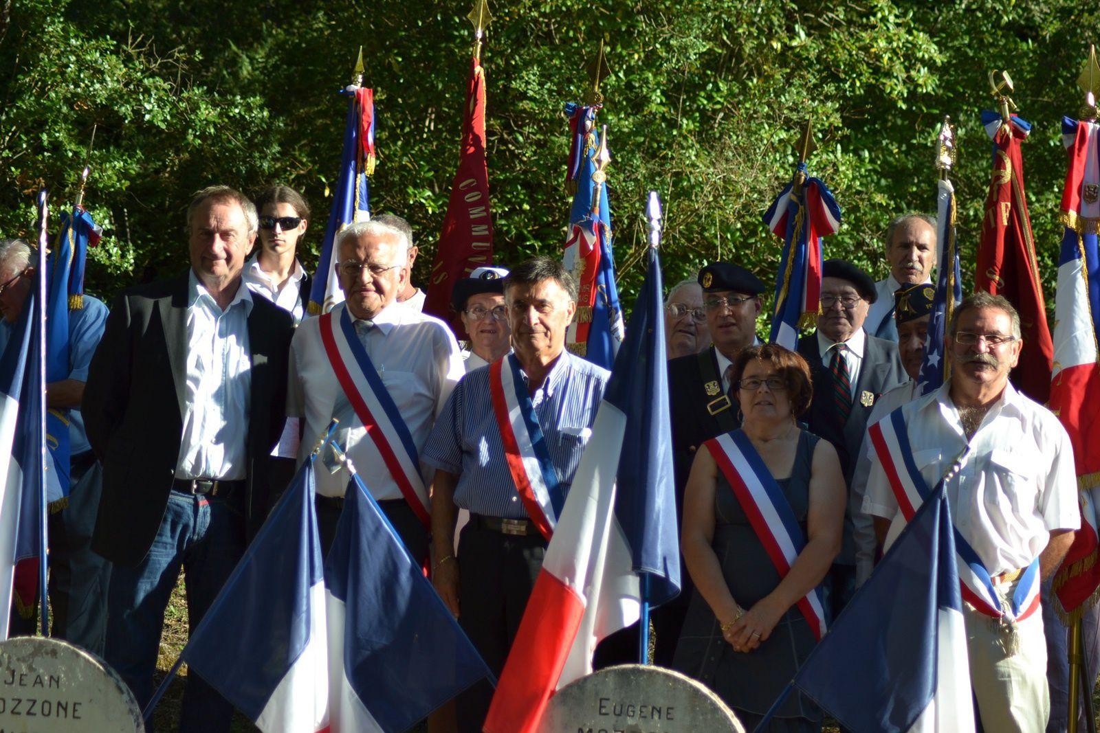 Vins sur Carami : le PCF organise la commémoration des résistants le mardi 29 juillet