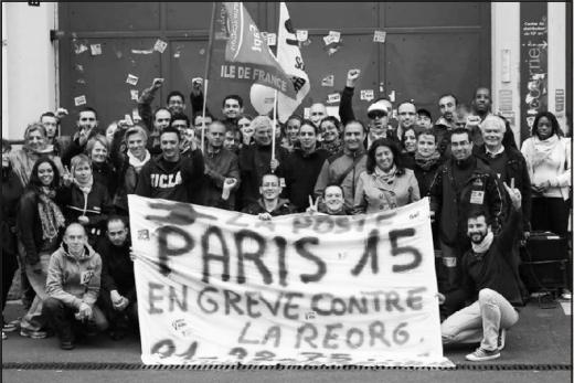Victoire pour les postiers du XVème à Paris