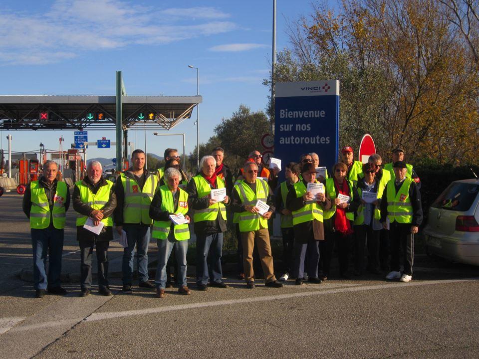 PCF : Non au racket des autoroutes et renationalisation