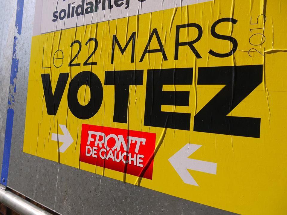 Le Front de Gauche à 12% en intégrant les candidats Front de Gauche-EELV !