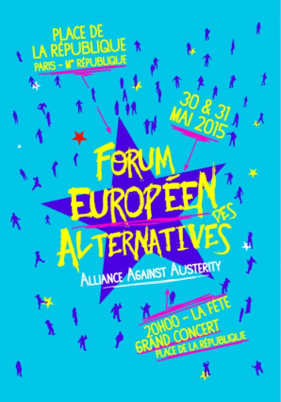 Forum européen de l'alternative (Anne Sabourin)