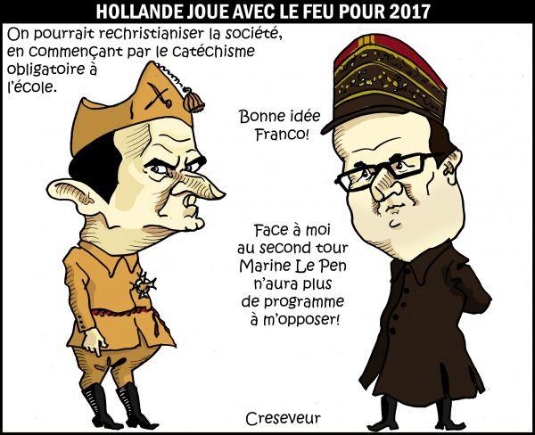 Voeux 2016 (6) de François Hollande (humour)