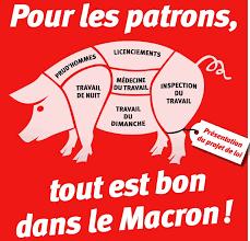 La mise en scène des meetings de Macron ! (vidéo)