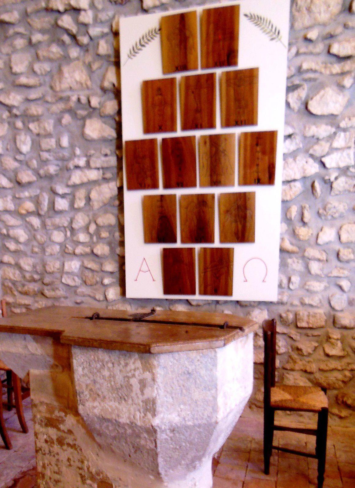 Chemin de Croix par Michèle Bozec, dans l'esprit de Vatican II