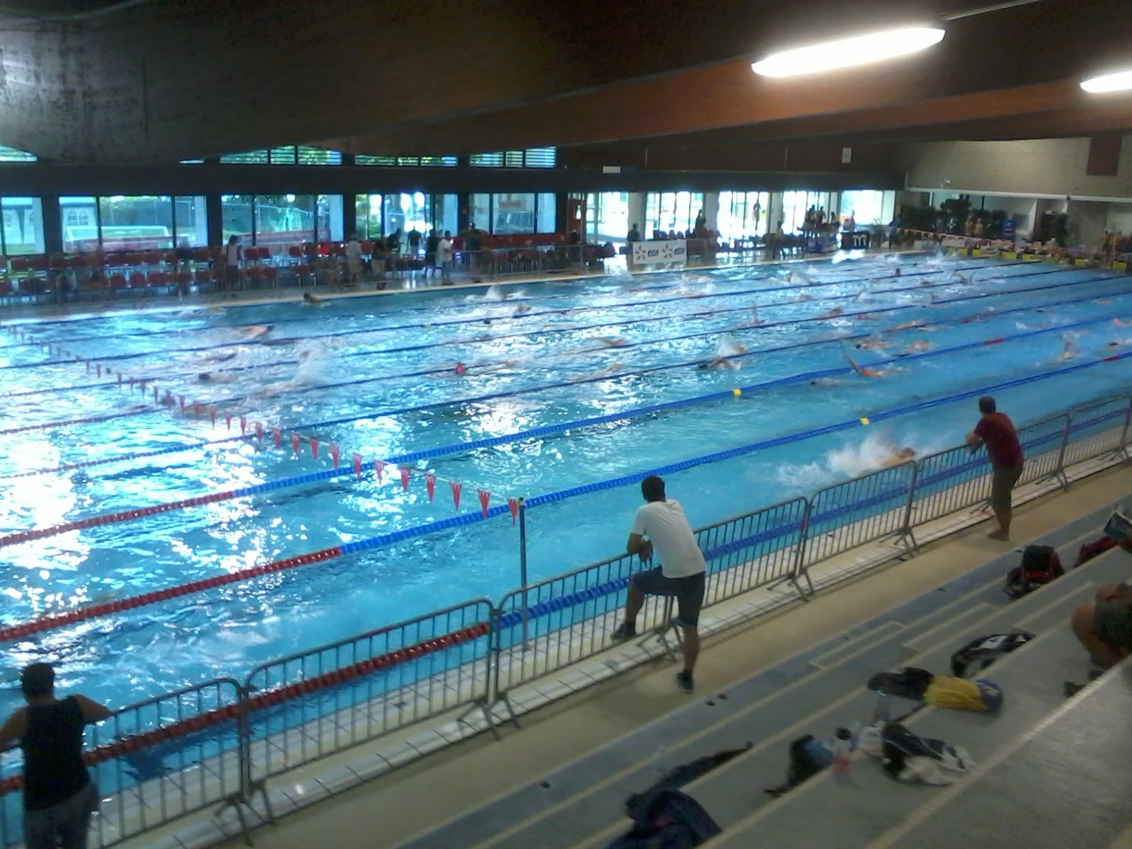 Championnats de france minimes le blog du clc natation for Piscine ile lacroix