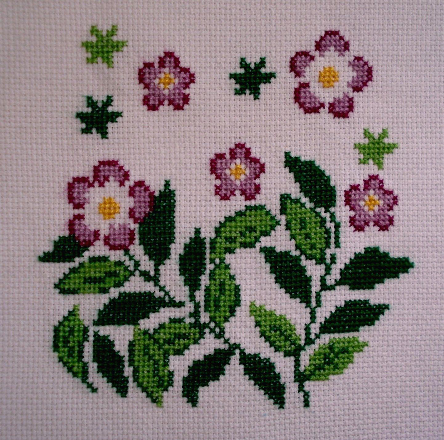 Fleurs violettes 2.