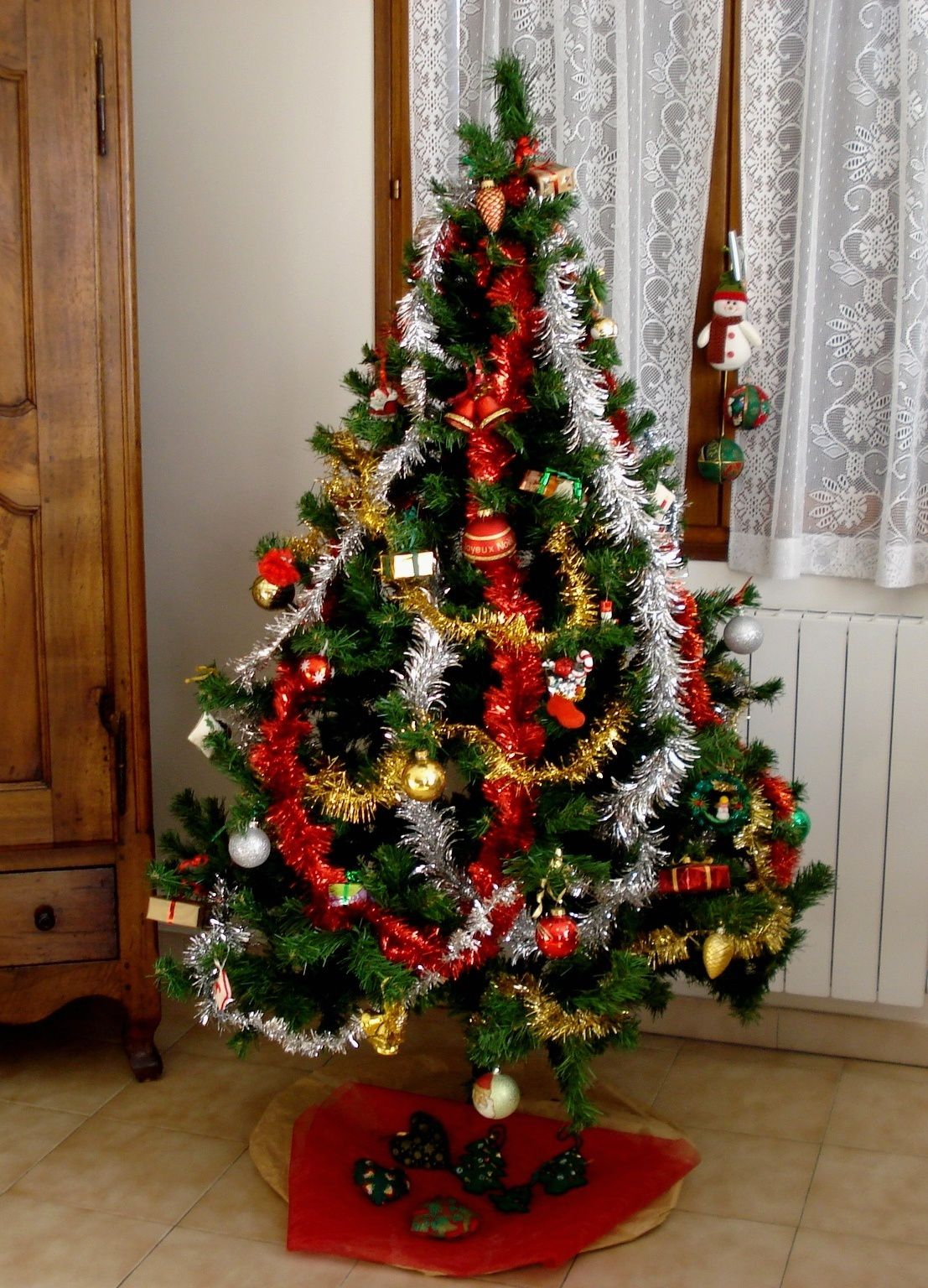 Le traditionnel sapin.